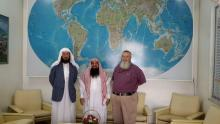 Dr. Mohammed Al-Akkas with Dr. Abdullah & Br. Yahya