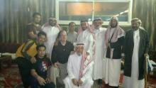 Prof. Robert Hofmaan & three new Muslims with eminent guests